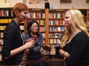 Stefanie Kohl, Yuko Nishio und Marie-Christin Enke