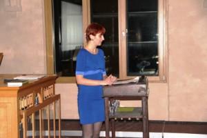 Stefanie Kohl stellt das Projekt vor