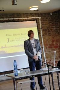 Paul Onasch stellt das Projekt vor