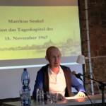 Matthias Senkel liest das Tageskapitel des 15. November 1968
