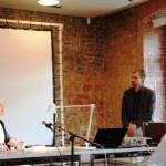 Ronald Richardt und Matthias Senkel im Gespräch