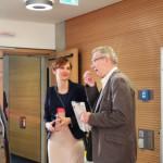 Prof. Holger Helbig und Stefanie Kohl im Gespräch mit Dr. Ulrich Fries