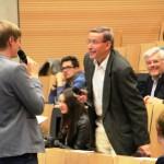 Der Leser des Chapter without a date, Dr. Erwin Kischel im Interview mit Paul Onasch
