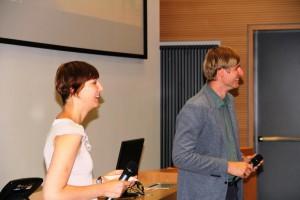 Stefanie Kohl und Paul Onasch