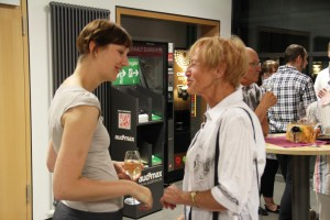 Stefanie Kohl im Gespräch
